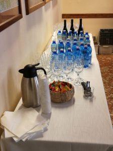 Acqua, vino e caffè